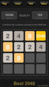 B11 169x300 Best 2048 Is Mind Mashing Mathematical Fun