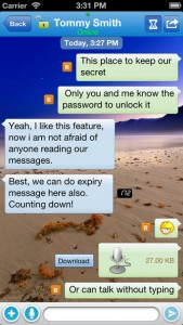 ccPing Is the Ultimate Secure iPhone Instant Messaging App