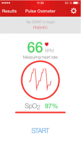 P1 168x300 Pulse Oximeter Turns Your iPhone into a Facinating Medical Device