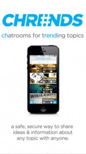Chrends Allows You to Anonymously Chat about Trending Topics