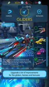 Race Though Space in a New Sci Fi Endless Runner: Glidefire