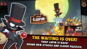 Thief Lupin 2: Stealing the World, One Canvas at a Time