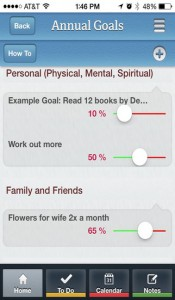 Stay on Top of Your Goals with Life Organizer