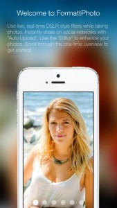 Press Release: FormattPhoto Offers Professional Grade Live Filters and Effects for iPhone and iPad