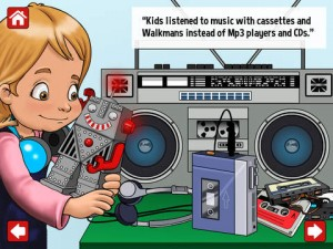 Messy Mia & The Tale of Ancient Tech HD Teaches Kids about Old Tech in a Fun Way