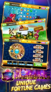 OMG! Fortune Free Slots iPhone Game