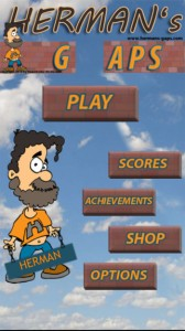 Jump to Survive in Hermans Gaps for iPhone