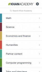 Khan Academy for iPhone