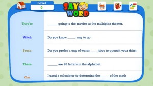 Make Grammar Fun with Say Word