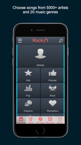 RockIt Karaoke for iPhone
