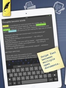Press Release: Textkraft Pro Updates Its Powerful Easy To Use Word Processor for the iPad