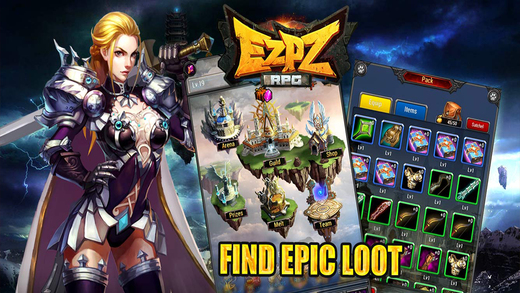EZ PZ RPG iPhone App Review