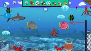 Gem Fish iPhone Game