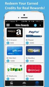 Video Rewards iPhone App