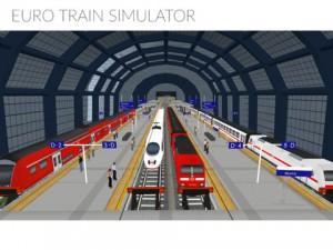 Euro Train Simulator iPad Game
