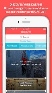 BUCKiTDREAM iPhone App
