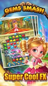 Gems Smash iPhone Game