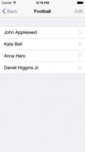 Easy Group iPhone App