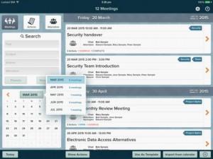 for Meetings iPad App