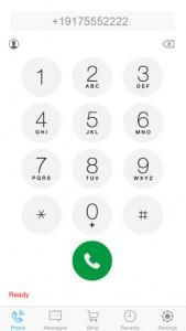 DialMask iPhone App