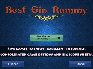 Best Gin Rummy iPhone Game