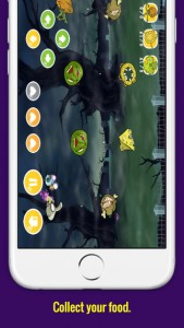 Zombie Food iPhone Game