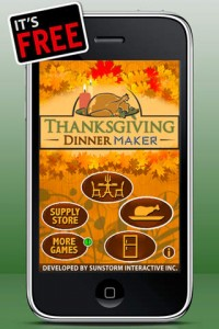 Thanksgiving Dinner Maker Free iPhone Game