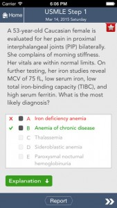 USMLE Step 1 Question of the Day iPhone App