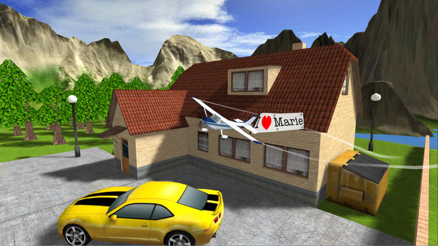 Airplane RC Flight Simulator iPhone App Review