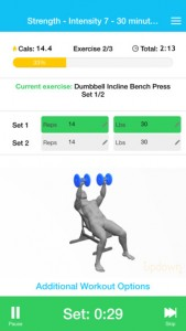 Updown Fitness iPhone App