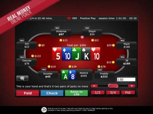 WSOP Real Money Poker Nevada iPad Game