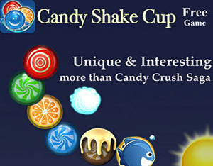 Candy Shake Cup